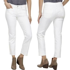 NEW Lucky Brand Sweet N' Crop White Jeans SZ 4 /27
